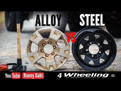 STEEL vs ALLOY rims Off-road Wheels
