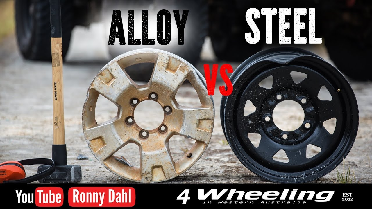 Steel vs alloy rims off road wheels youtube