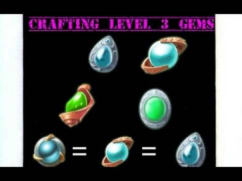 Order And Chaos Online - Crafting Level 3 Gems