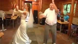 Красивый свадебный танец отца и дочери
