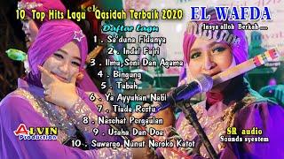 Download Lagu 10 KOLEKSI  LAGU  TERBARU - QASIDAH TERBAIK 2020 - EL WAFDA DEMAK - Alvin production mp3