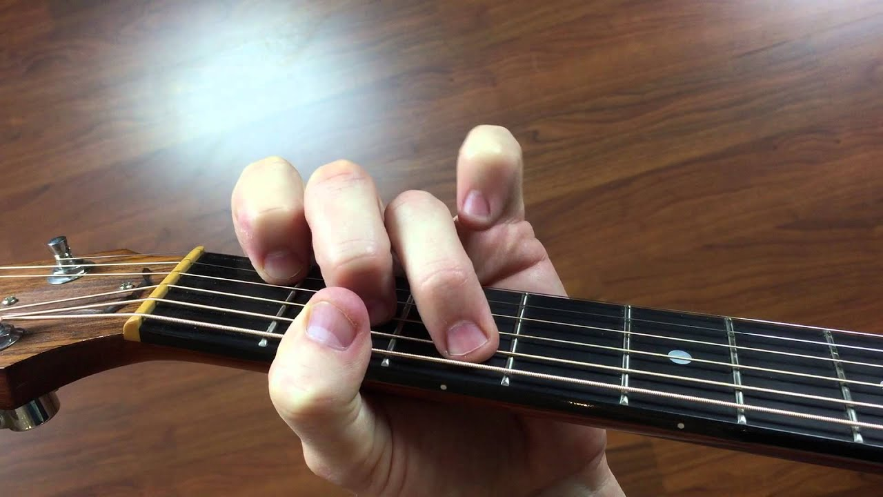Chord Fmaj7 F Major 7 Guitar Open Chord How To Play Guitar For
