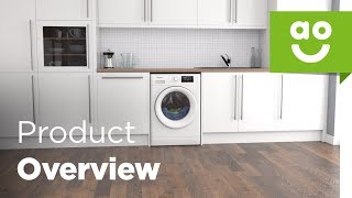 Whirlpool Washer Dryer FWDD117168W Product Overview | ao.com
