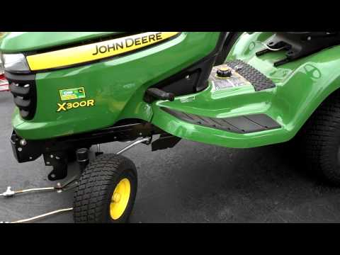 john deere x300r doovi. Black Bedroom Furniture Sets. Home Design Ideas