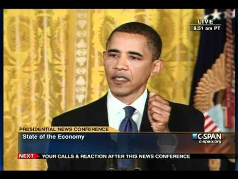 Pr.Obama (4) Press Conference- Jobs Economy Islam Elections