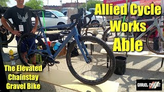Allied Cycle Works Able - The Elevated Chainstay Gravel Bike
