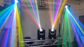 AUVI Lights Mega Beam 12RX Moving Head 6 Lentes de Prismas