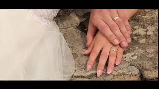 Футаж. Свадебный. Руки жениха и невесты .Без звука