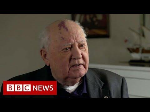 Mikhail Gorbachev: World in 'colossal danger' - BBC News