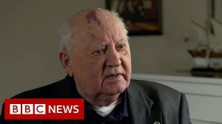 Mikhail Gorbachev: World in 'colossal danger' - BBC News