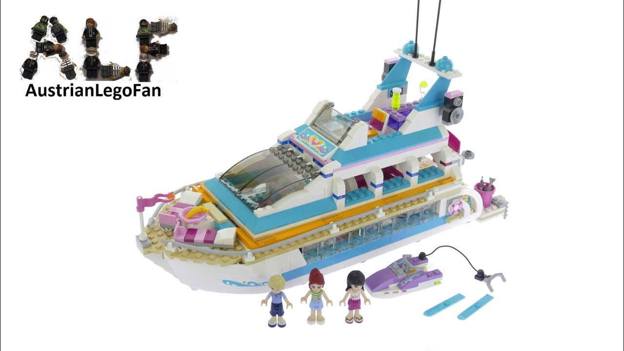 How To Build Lego Friends Dolphin Cruiser