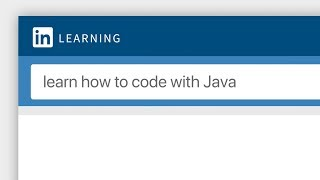 Learn How to Code with Java Using Online Tutorials from LinkedIn Learning