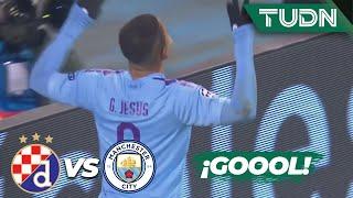 ¡Goleada y hat-trick! | Dinamo Zagreb 1 - 3 Man. City | Champions League - J 6 - Grupo C | TUDN