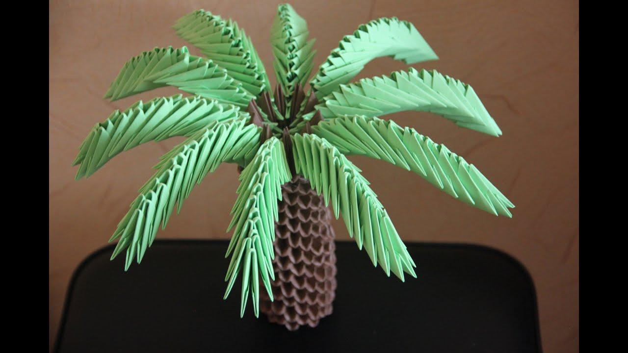 #23 Palma - Origami modułowe - YouTube - photo#27