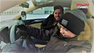 Дима за рулем Автомобиль из США VW JETTA 1.8 TSI РЕБЕНОК САМ ЕДЕТ НА МАШИНЕ Тест драйв Volkswagen