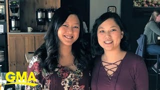 Women born in South Korea learn they're sisters | GMA Digital