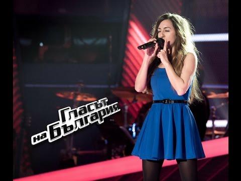 Ралица Грудева - It's Oh So Quiet - Гласът на България 4 – Кастинги (02.04.2017)