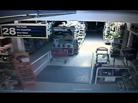 ghost on store security cameras