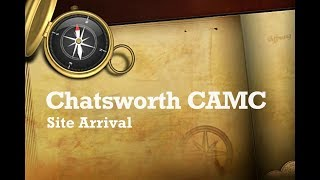 Chatsworth Caravan & Motorhome Club Site Arrival