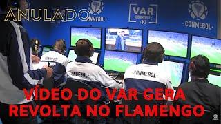 Flamengo se revolta com o vídeo da Conmebol do gol anulado de Gabigol contra Grêmio. Veja as imagens