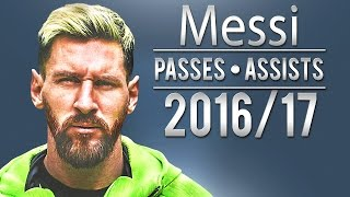 Lionel messi - magical passes & assists | 2016/17 | hd