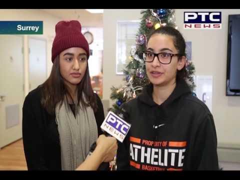 Canada, Surrey; Punjabi Students Join Senior Residents at PICS Facility to Distribute Gifts