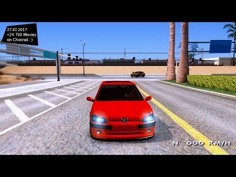 Peugeot 106 GTI - GTA San Andreas 2160p / 🔥 4K / 60FPS 🔥