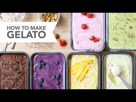 How to Make Gelato - A Skillshare Video Class by FoodNouveau.com