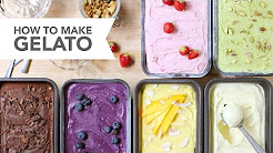 How to Make Gelato - A Skillshare Video Class by FoodNouveau.com