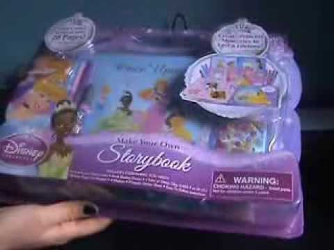 Princess Storybook Scrapbook Youtube