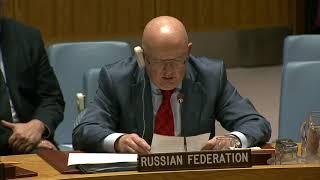 Выступление В.А.Небензи на заседании Совета Безопасности ООН по ситуации на Корейском полуострове(, 2017-08-30T01:17:01.000Z)