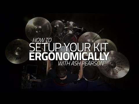 How To Set Up Your Kit Ergonomically - Drum Lesson