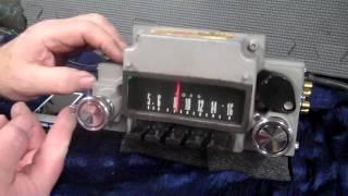 1967 ford original Fairlane am radio