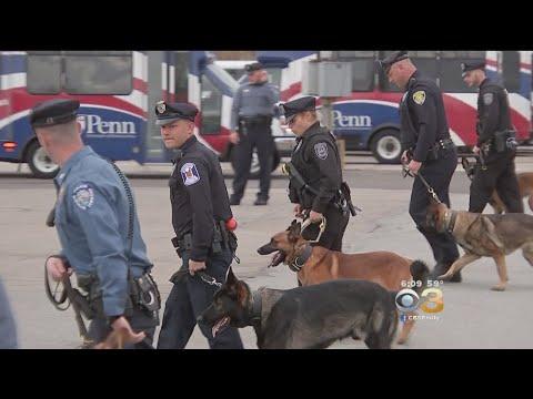 K-9 Officers Graduate From Patrol Training At Penn Vet Working Dog Center