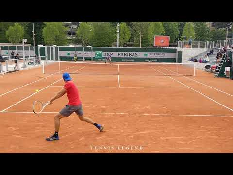 Shapovalov vs. De Minaur : best practice points (Roland-Garros 2019)