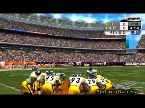 NFL 2012 Week 12 - Pittsburgh Steelers (6-4) vs Cleveland Browns (2-8) - 1st Half - NFL 2K5 - HD