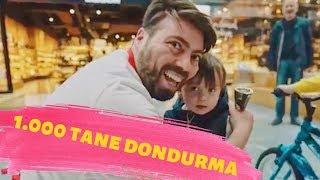 Yeni Tipimle 1000 Tane Bedava Dondurma Dağıttım! (Çocuklar Çıldırdı)