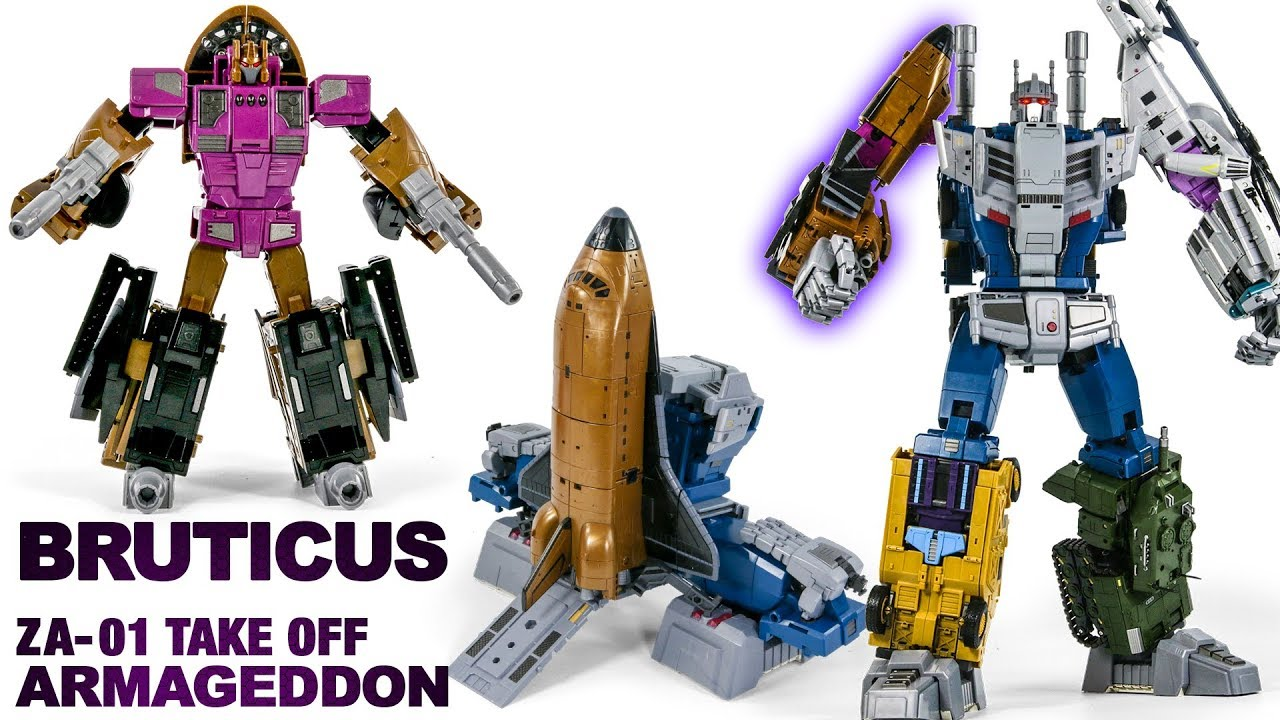 Transformers Zeta toys ZA-01 Armageddon Take Off Blast Off in Stock