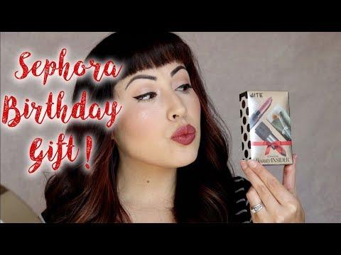 Sephora BIRTHDAY Gift November 2018!