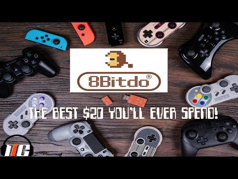 8-BITDO WIRELESS USB ADAPTER | Use Ps4 Controllers on Nintendo Switch!!!