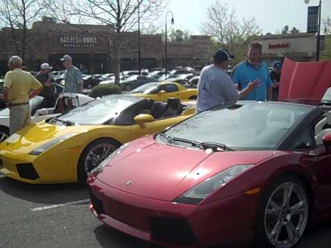 Raleigh Car Show >> Cars N Coffee Raleigh Nc Exotic Car Show Youtube
