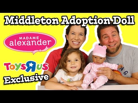 Madame Alexander Middleton Adoption Doll Toys R Us Exclusive