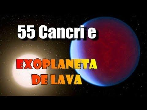 """Novedades sobre """"55 Cancri e"""" un exoplaneta con lagos de lava y una atmósfera como la Tierra"""