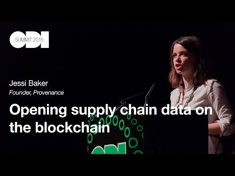 Opening supply chain data on the blockchain: Jessi Baker - ODI Summit 2015