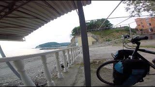 ВЕЛОПУТЕШЕСТВИЕ Доехать на море на Велосипеде от Краснодара Спал у туалета