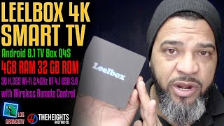 Leebox 4K Android TV Box 8.1 💻 : LGTV Review