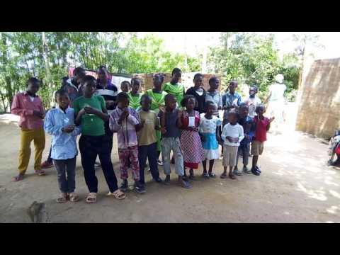 Praise  song in Swahili language.