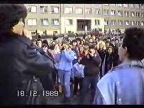 Břeclav 1989 - revoluce 9.část - budova OV KSČ Břeclav