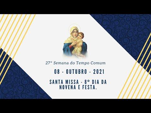 Santa Missa - 8º dia da novena - Festa do Santuário Mãe Rainha 2021