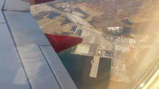 Take off from TF Green airport Rhode Island - Southwest airlines.